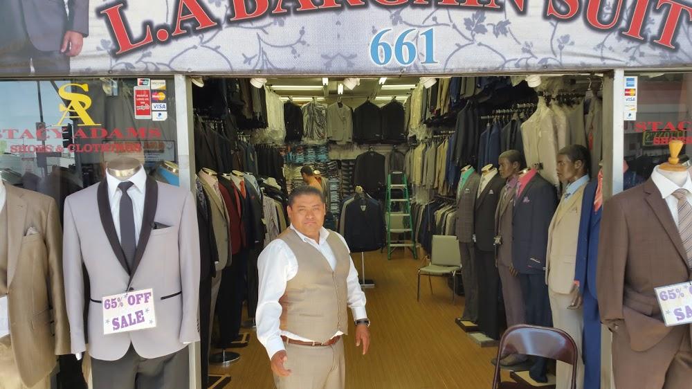 L A Bargain Suits