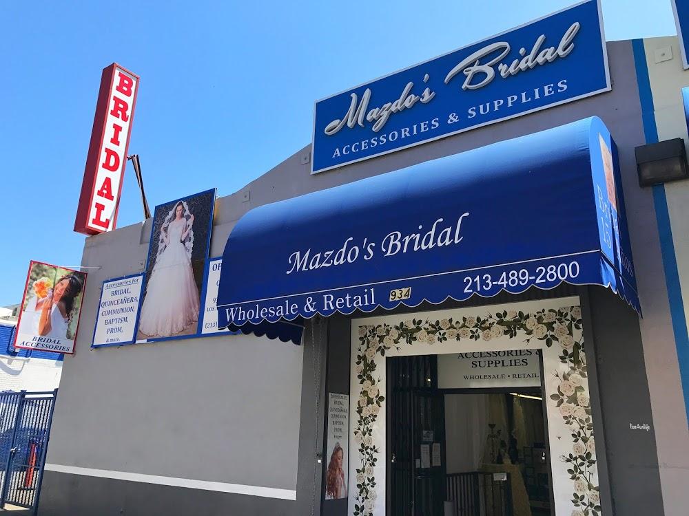 Mazdo's Bridal accessories