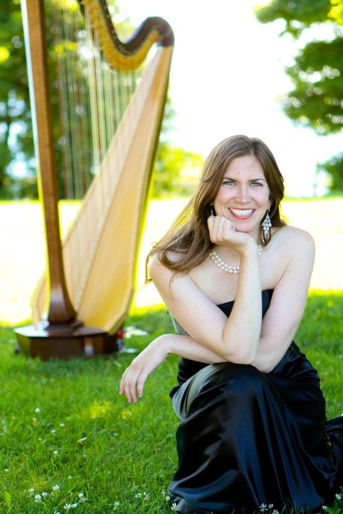 Claire Happel Ashe, harpist